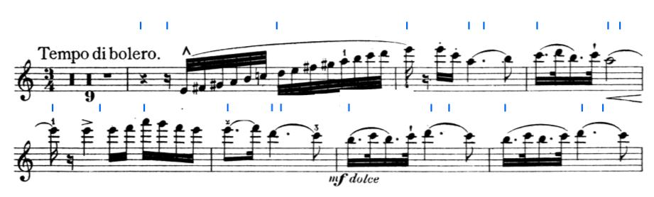 Wie spiele ich rhythmischer Geige?